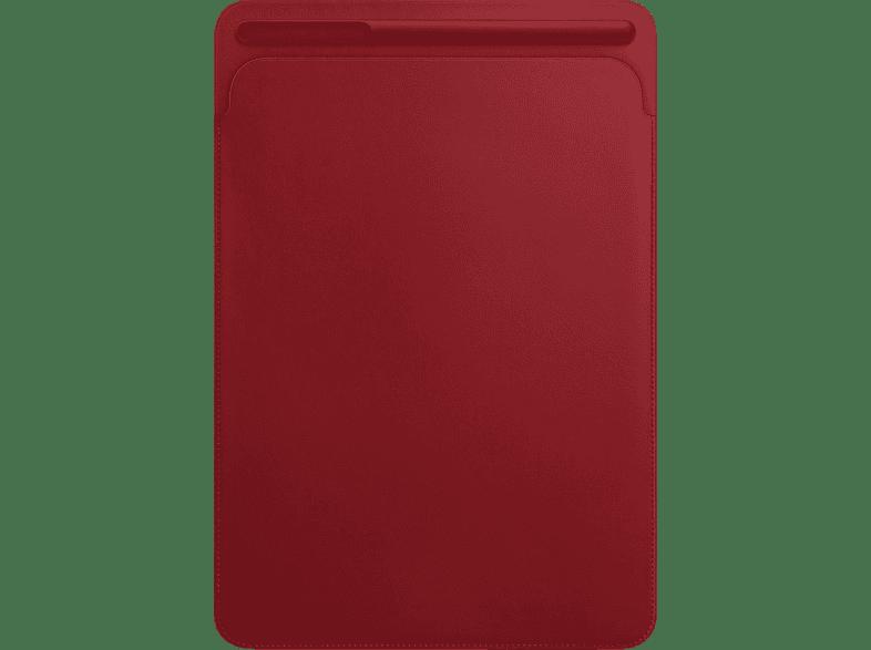 APPLE Lederhülle (PRODUCT)RED Tablethülle, Sleeve, Rot