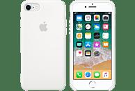 APPLE Silikon Case , Backcover, Apple, iPhone 7, iPhone 8, Silikon, Weiß