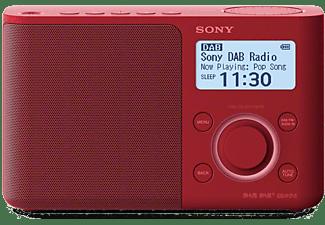 SONY Draagbare radio FM DAB+ Rood