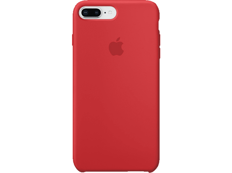 APPLE Silikon Case , Backcover, Apple, iPhone 8 Plus, iPhone 7 Plus, Silikon, Rot