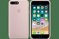 APPLE Silikon Case , Backcover, Apple, iPhone 7 Plus, iPhone 8 Plus, Silikon, Sandrosa