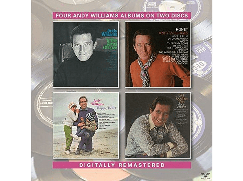 Andy Williams - In The Arms Of Love/Honey/Happy Heart/Get Together [CD]