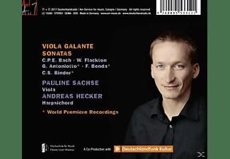 Pauline Sachse, Andreas Hecker - Viola Galante  - (CD)