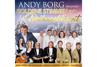 VARIOUS - Andy Borg präs.goldene Stimme  - (CD)