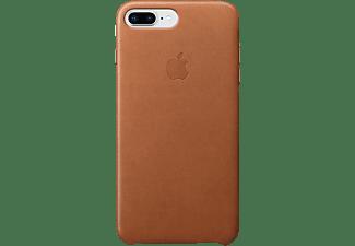 APPLE Leder Case, Backcover, Apple, iPhone 7 Plus, iPhone 8 Plus, Sattelbraun