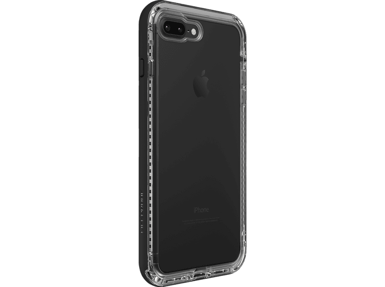 LIFEPROOF NËXT , Backcover, Apple, iPhone 7 Plus, iPhone 8 Plus, Schwarz/Transparent
