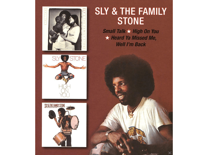 Sly & the Family Stone - Small Talk/High On You/Heard Ya Missed Me [CD]