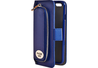 V-DESIGN W-2-1 008 Wallet 2-in-1 Handyhülle, Apple iPhone 6, iPhone 6s, Blau