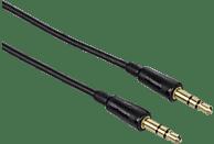 HAMA 3,5-mm-Klinken-Stecker Audio-Kabel, Schwarz