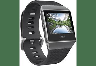 Reloj deportivo - Fitbit Ionic, Pantalla LCD, GPS, Resistente al agua