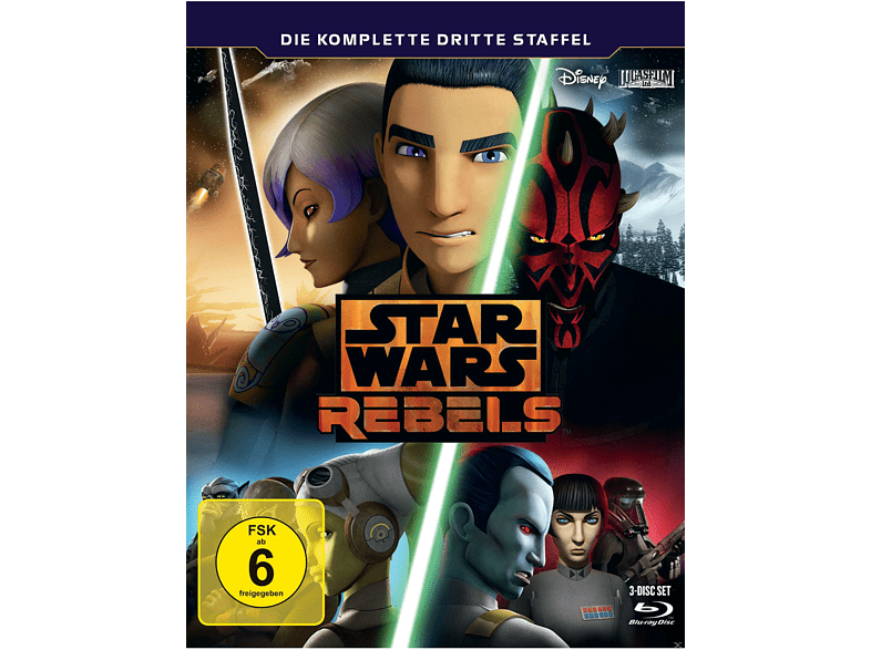 STAR WARS REBELS: Staffel 3 [Blu-ray]