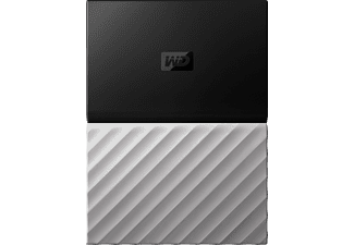 WD My Passport™ Ultra, 3 TB HDD, 2,5 Zoll, extern, Schwarz/Grau