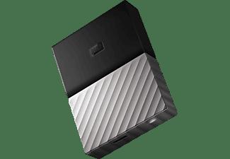 WD My Passport™ Ultra, 2 TB HDD, 2,5 Zoll, extern, Schwarz/Grau