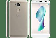 BQ Aquaris V Plus 32 GB Weiß/Mist Gold Dual SIM
