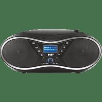 OK. ORC610 DAB-B Tragbares Stereoradio Schwarz