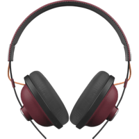 PANASONIC RP-HTX80BE, Over-ear Kopfhörer Bluetooth Rot/Schwarz