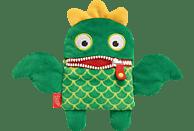 SCHMIDT SPIELE (UE) Sorgenfresser Plüschmagnet - Kiwi Plüschfigur, Grün