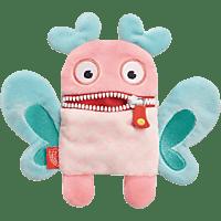 SCHMIDT SPIELE (UE) Sorgenfresser Plüschmagnet - Koko Plüschfigur, Rosa/Blau