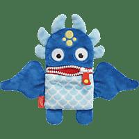 SCHMIDT SPIELE (UE) Sorgenfresser Plüschmagnet - Dante Plüschfigur, Blau