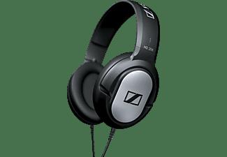 Auriculares - Sennheiser HD 206, Diadema auricular, Negro, Plata