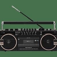 RICATECH PR 1980 BOOMBOX 80 S Ghettoblaster (Schwarz)