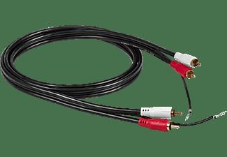 OEHLBACH D1C84040 RCA Phono-Kabel, Schwarz