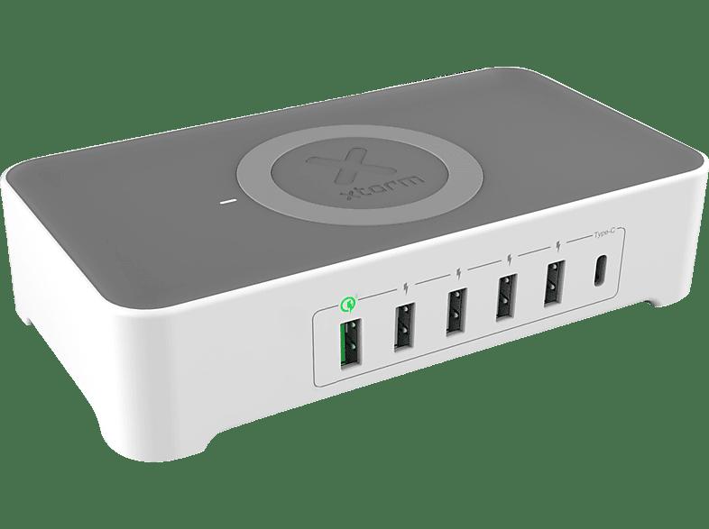 XTORM VIGOR USB HUB, Silber/Weiss