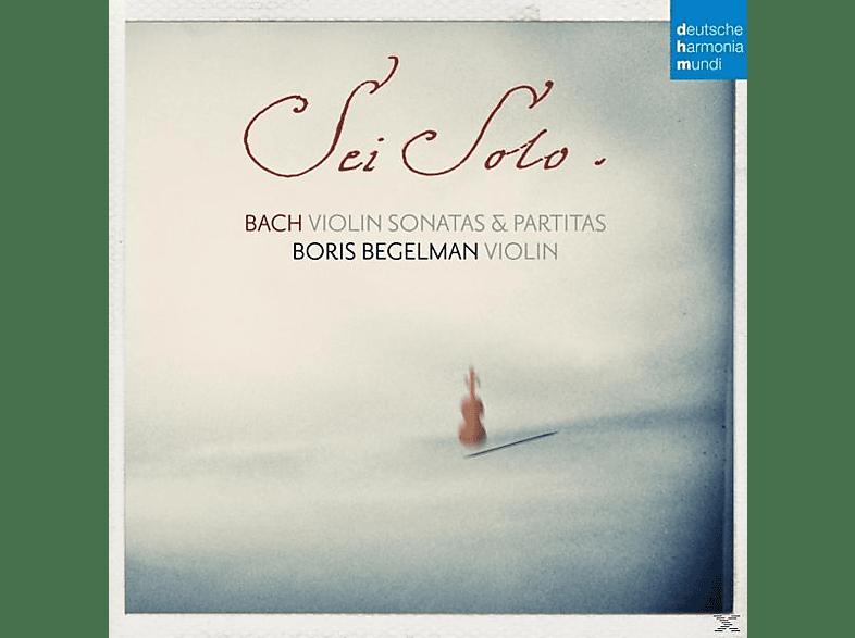 Boris Begelman - Sonatas and Partitas for Solo Violin [CD]