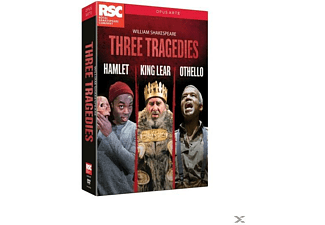 Various, Royal Shakespeare Company - Three Tragedies  - (DVD)
