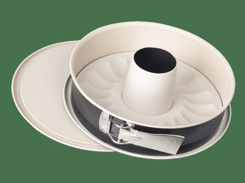 Ser 26 cm mit Antihaftbeschichtung ZENKER Springform mit Flach und Rohrboden
