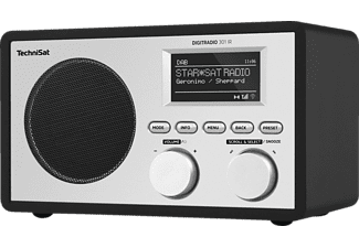 TECHNISAT DIGITRADIO 301 IR Internetradio, AM, DAB, DAB+, Internet Radio, Schwarz