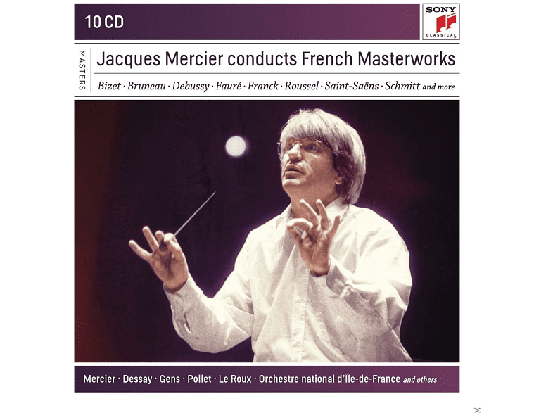 Orchestre National D'ile De France - Masterworks of the late 19th Century in France [CD]