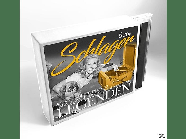 Johannes Heesters, Lolita, Zarah Leander, Comedian Harmonists - Schlager Legenden [CD]