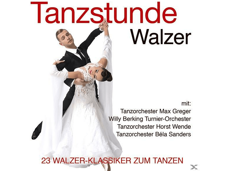 Tanzorchester Max Greger, Willy Berking Turnier-Orchester, Tanzorchester Horst Wende, Tanzorchester Béla Sanders - Tanzstunde-Walzer [CD]