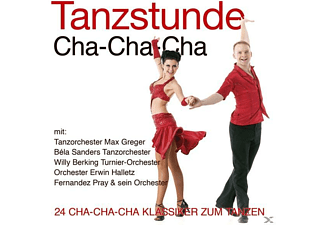 Tanzorchester Max Greger, Béla Sanders Tanzorchester, Willy Berking Turnier-Orchester, Fernandez Pray & Sein Orchester, Erwin Halletz Orchester, VARIOUS - Tanzstunde-Cha-Cha-Cha  - (CD)