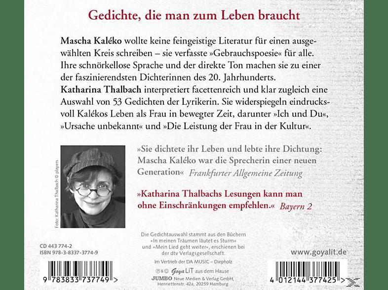 Mascha Kalèko Solo Für Frauenstimmegedichte Cd