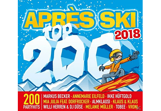 VARIOUS - Apres Ski Top 200 2018 - (CD)