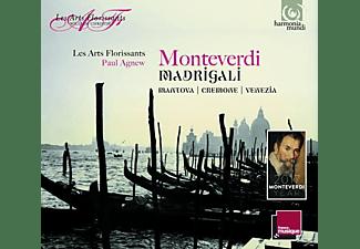 Les Arts Florissants - Madrigals: Mantova,Cremona,Venezia  - (CD)