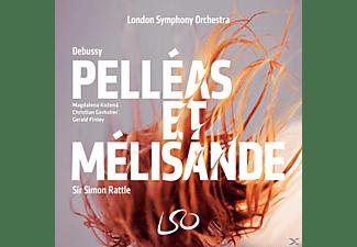 Sir Simon Rattle, Magdalena Kozena, Christian Gerhaher, Gerald Finley, LSO Chorus - Pelleas et Melisande (3 SACD+Audio Blu-R)  - (CD + Blu-ray Audio)