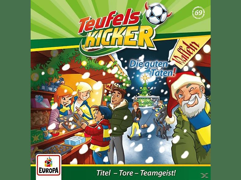 Teufelskicker - 069/Die guten Taten! - (CD)