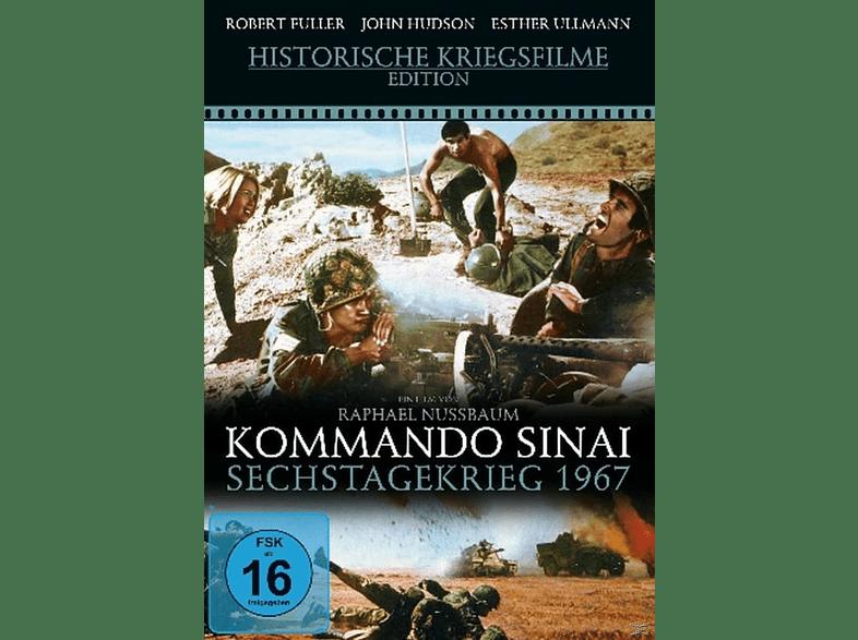 Kommando Sinai - Sechstagekrieg 1967 [DVD]