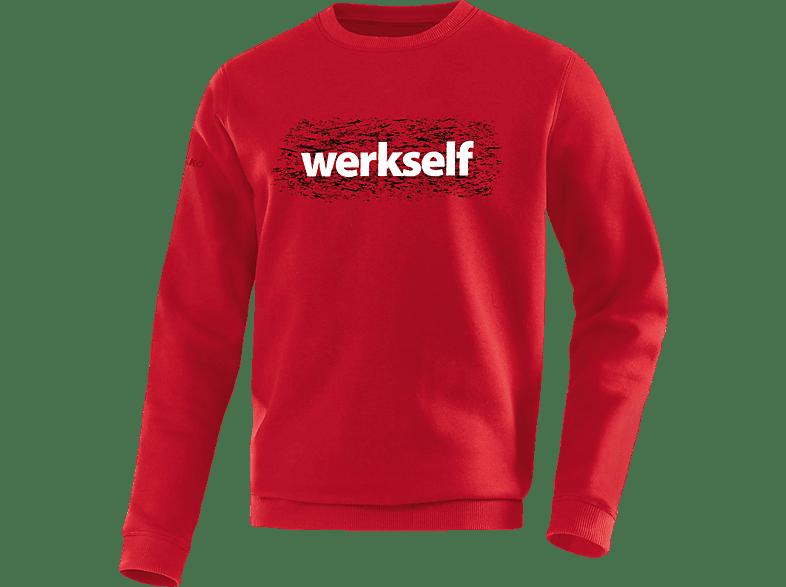 JAKO Bayer 04 Leverkusen Sweatshirt, Rot