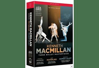 Three Ballet Masterpieces DVD
