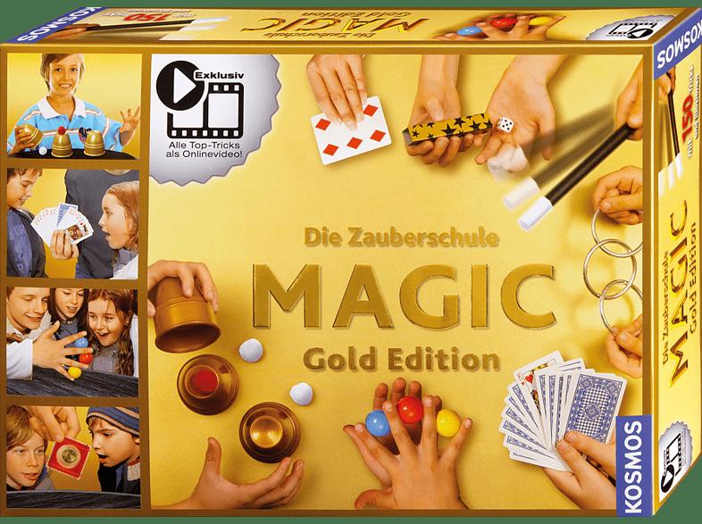 KOSMOS 698232 Zauberschule Magic - Gold Edition, Mehrfarbig