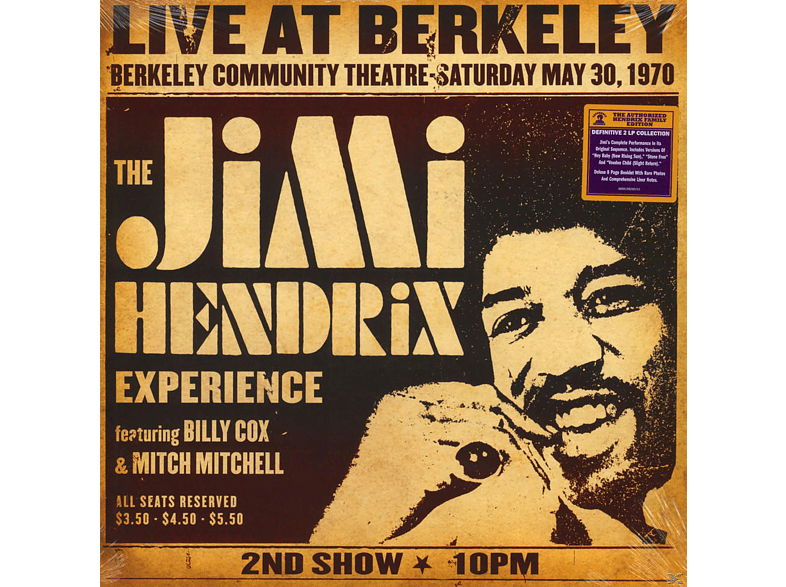 The Jimi Hendrix Experience - Live At Berkeley [Vinyl]
