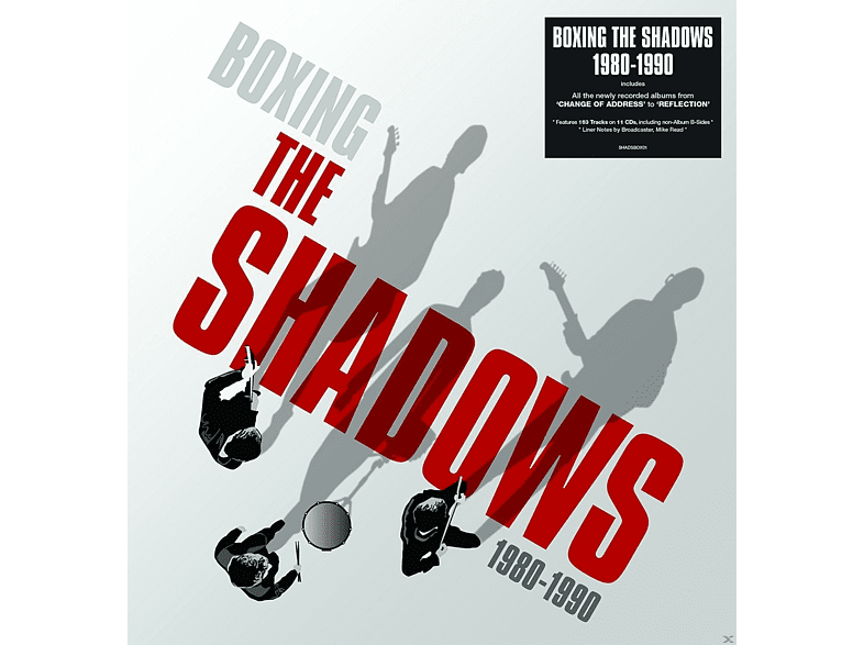 The Shadows - Boxing The Shadows 1980-1990 (11CD-Set) [CD]