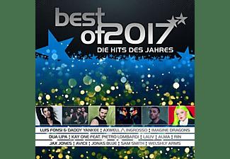 VARIOUS - Best Of 2017-Die Hits Des Jahres  - (CD)
