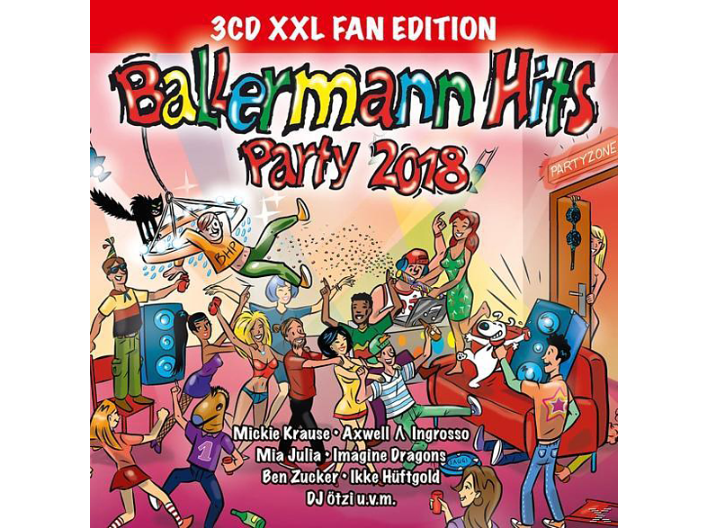 VARIOUS - Ballermann Hits Party 2018 (XXL Fan Edition) [CD]