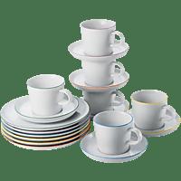 ARZBERG 42100-670657-2848 Cucina-Basic Colori 18-tlg. Kaffeegeschirr-Set