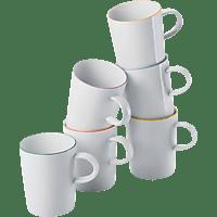 ARZBERG 42100-670657-2844 Cucina-Basic Colori 6-tlg. Becher-Set